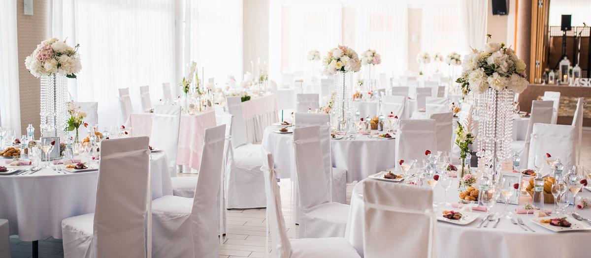 Svadba vo velkej sale